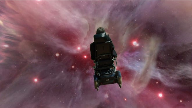 "Stephen Hawking offers his own take on Monty Python's ""Galaxy Song."""