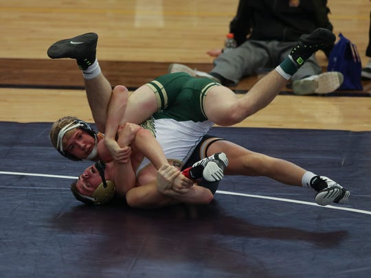 152-pound Lance Runyon helps lead the Rams to a team