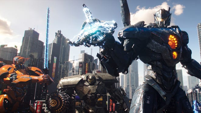 "The Jaegers are back in town in ""Pacific Rim Uprising."""