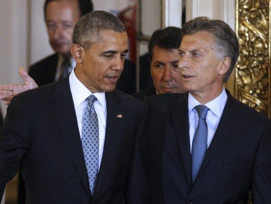 Obama ans Macri