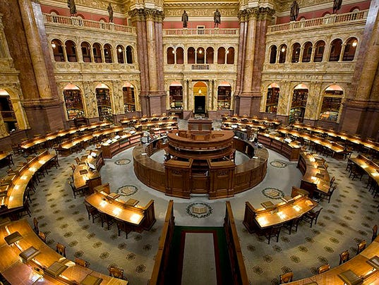 Access To Library Of Congress Reading Room