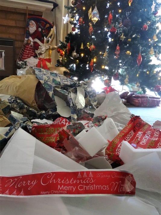 Christmas Day mess