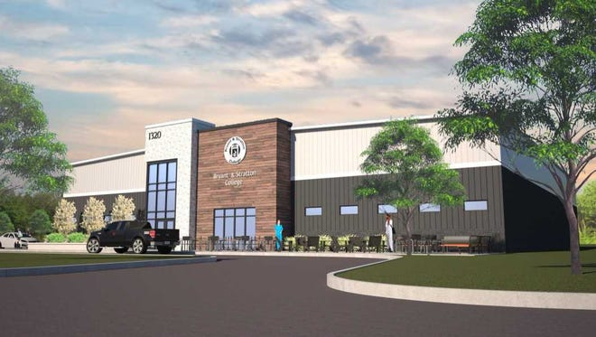 Bryant & Stratton College will redevelop a former Mount Pleasant fitness center into a new campus.