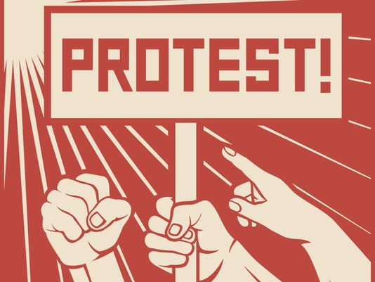 protest design - lots of furious people (demonstrations)