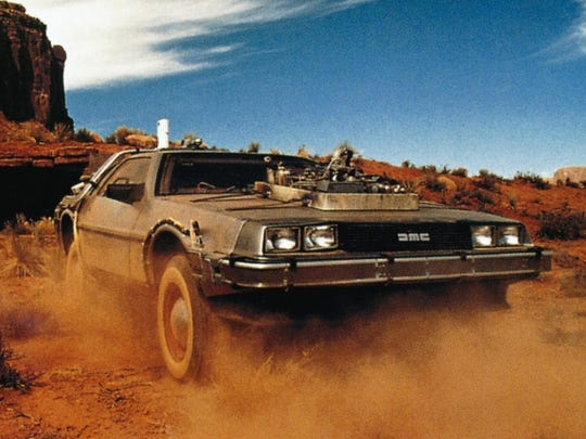 "The time traveling Delorean  lands in Monument Valley circa 1885, allowing the third ""Back to the Future"" film to indulge in a number of nods to John Ford's westerns."