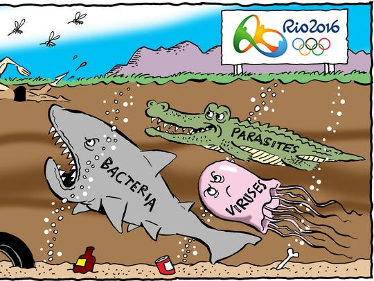 Problems with Rio Olympics.