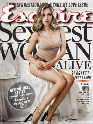 Scarlett Johansson covers the November 2013 issue of Esquire mag, out Oct. 15.