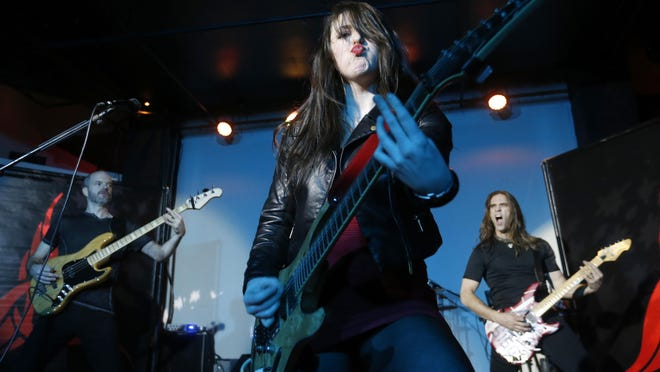 Hard rock band Paralandra kicks off its East Coast Alive tour with an all-ages Friday night show at the Regency. There is a cover charge.