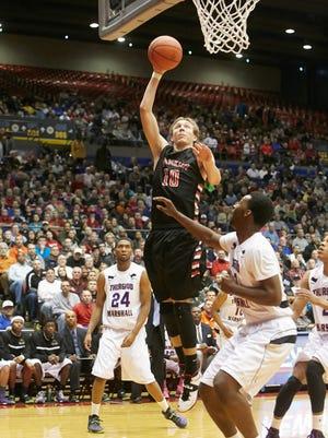 Franklin basketball player Luke Kennard.