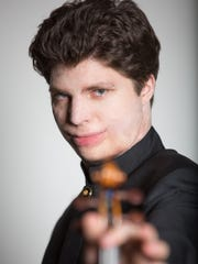 Violinist Augustin Hadelich plays with the RPO March 5 and 7.