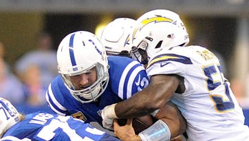 No NFL quarterback has been sacked more than the Colts' Andrew Luck in 2016.