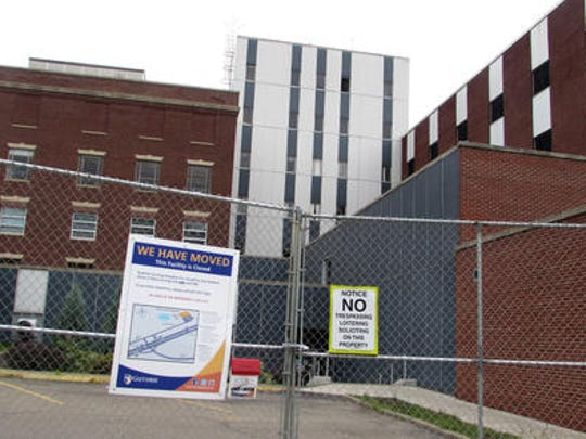 Corning Hospital is seeking $2 million in state capital funds to aid in the demolition of its old building and the consequent preparation of a shovel-ready site.