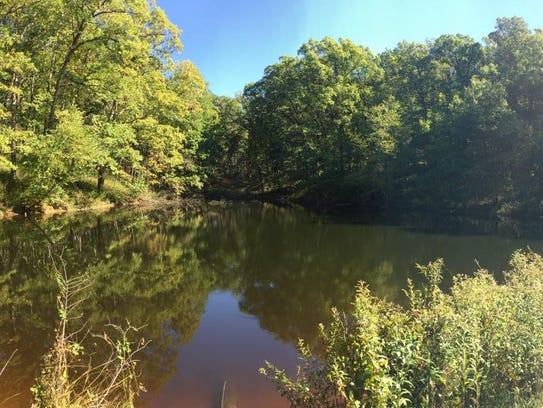 Sockum Ridge County Park near Washington is shown on