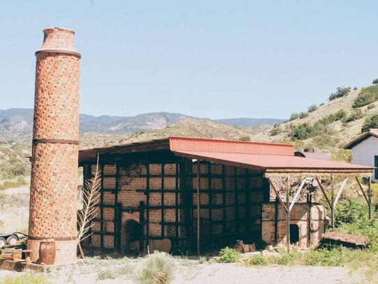 One of the most prominent features of the La Luz Pottery