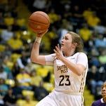 Southern Miss senior Brooke Rhodes is the only Lady Eagle to start all 35 games this season.