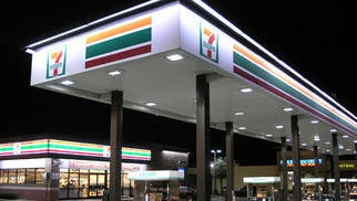LSI Industries Inc. converted more than 3,000 7-Eleven stores to LED lighting in a mega-contract in 2012. LSI Industries Inc. converted more than 3,000 7-Eleven stores to LED lighting in a mega-contract in 2012.