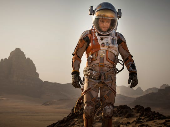 Matt Damon in 'The Martian,' a 2015 adaptation of Andy