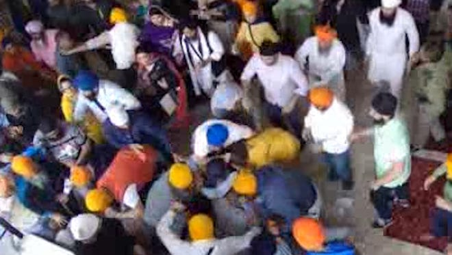 Johnson County Prosecutors Office releases raw footage of the Sikh temple brawl in Greenwood.