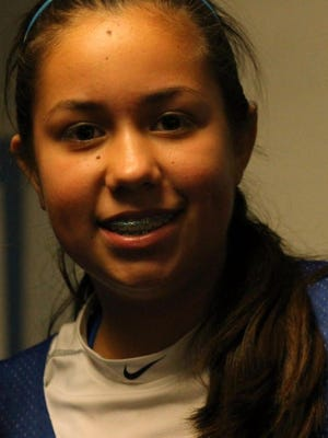 Hondo Valley eighth grader Fallon Velasquez is the student athlete of the week.