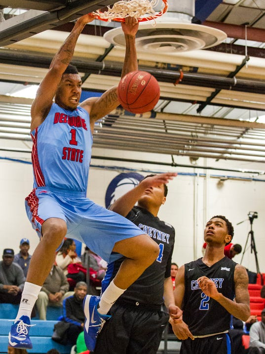 Kendall Gray (Delaware State) basketball
