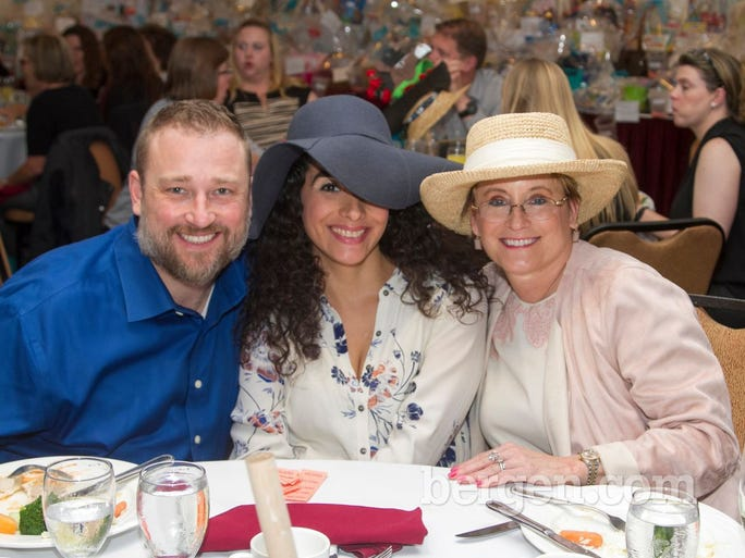 David Kist, Lynette Vitale, Dr. Donna Manderino (Photo by Richard Formicola)