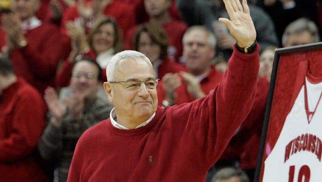 Former Wisconsin coach Dick Bennett in 2008.