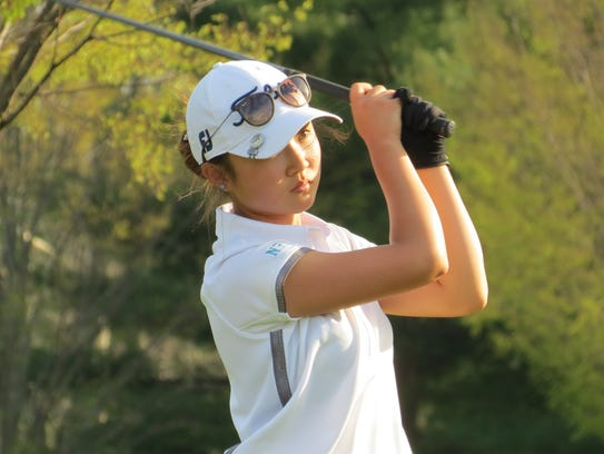 Immaculate Heart sophomore Yoona Kim won the individual