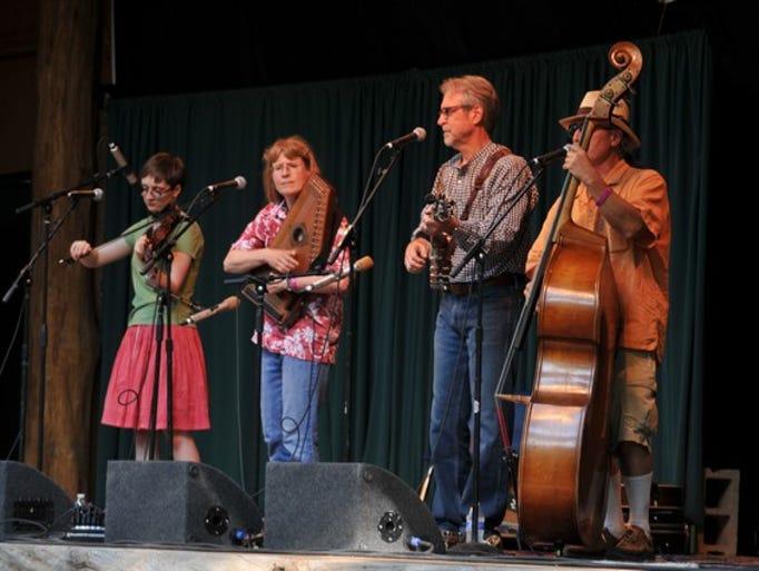 Karen Mueller & Friends perform at the annual Minnesota Homegrown Kickoff on Friday, May 30, at El Rancho Manana near Richmond.