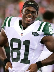 Quincy Enunwa is the Jets' leading WR so far this year.