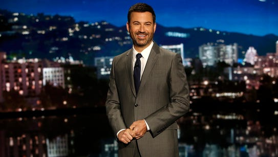 """""""Jimmy Kimmel Live!"""" debuted in 2003."""