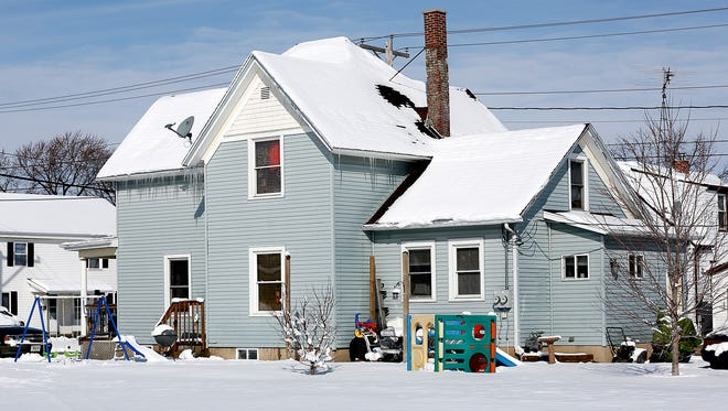 A residence at 9 north State Street in Waupun where 7 people were arrested after a search warrant netted a substantial amount of heroin, methamphetamine, and drug paraphernalia Wednesday March 1, 2017.