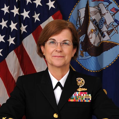 Rear Adm. Elizabeth Train has been nominated to replace