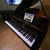 The grand look of Steinway pianos