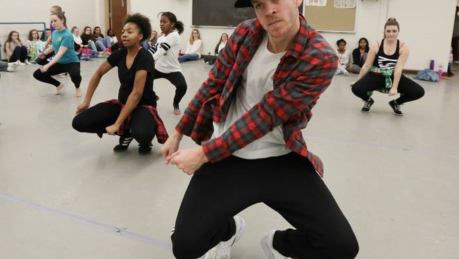 Graham Breitenstein is a 2003 Male HS graduate. He's toured the world as a dancer with Lady Gaga. He returned to Louisville during the holidays and dropped by Youth Performing Arts School an worked with a group of juniors and seniors in a masters class.December 16, 2016