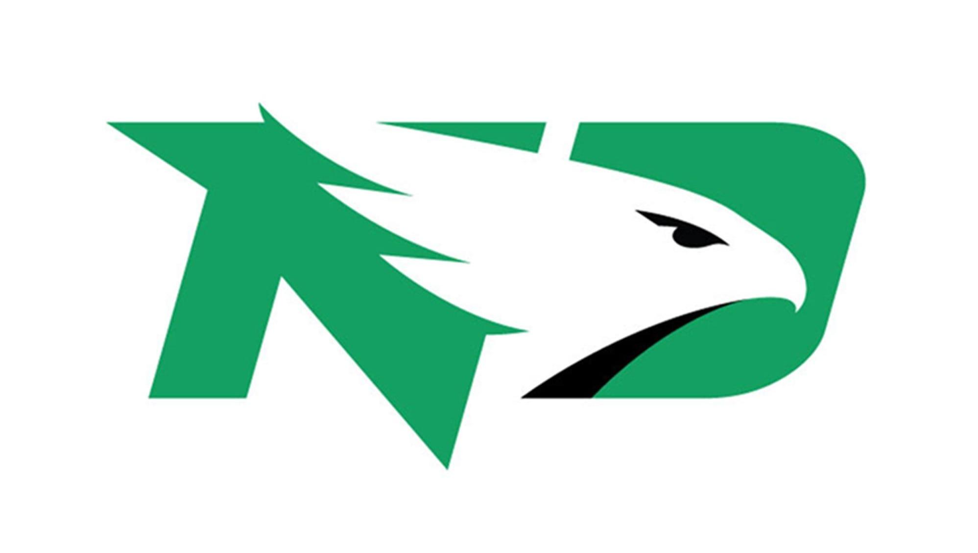 North Dakota Fighting Hawks Logo Brands NCAA Glacier Cooler