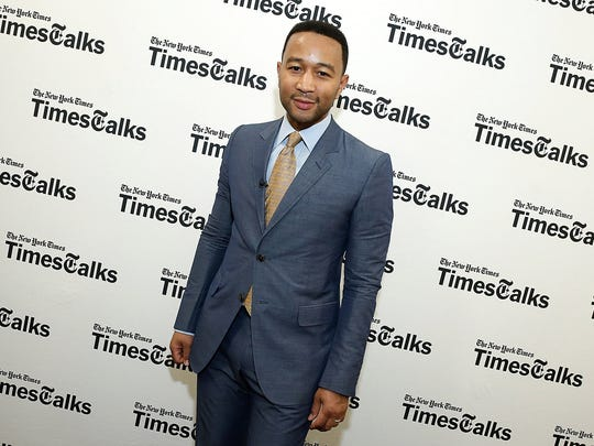 NEW YORK, NY - MAY 07: John Legend attends TimesTalks