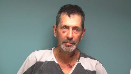 David Tabler, 54, of Salem, was arrested in connection with the stabbing of a man who lived on his property on April 3, 2017.