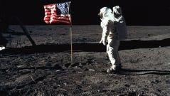 On July 20, 1969, astronaut Buzz Aldrin, lunar module