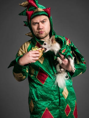 Piff the Magic Dragon, aka John van der Put, and his sidekick Mr. Piffles will be performing at Off the Hook Comedy Club in North Naples from Friday through Sunday, Oct. 6 to 8.