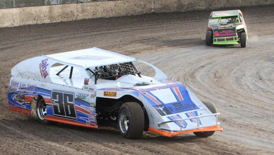 John Campos of Keizer (36) placed second in the modified