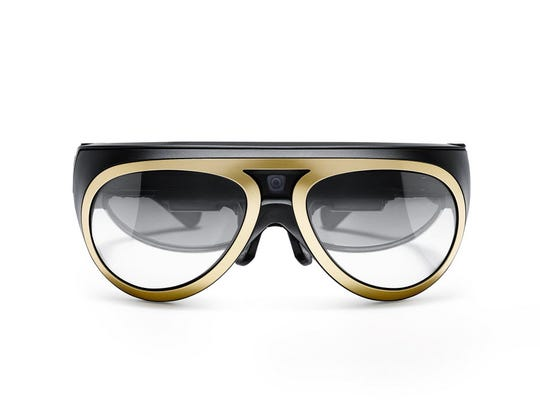 Mini's augmented vision goggles, designed by Osterhout