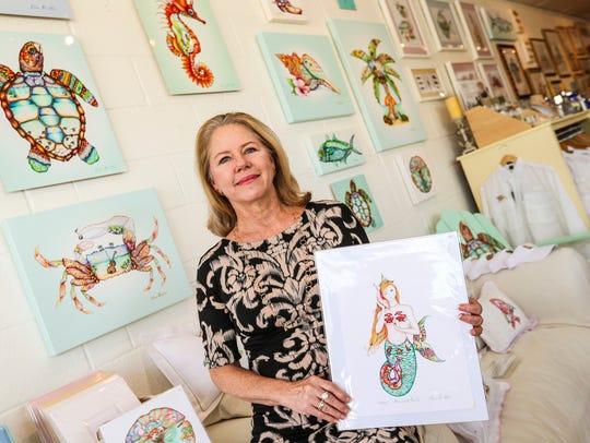 Nora Butler designs and creates very unusual Florida