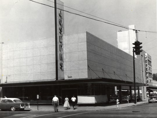 Joseph's Department Store on South Front Street in