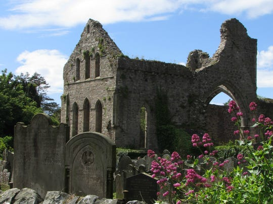 On the edge of town in Greyabbey, Northern Ireland,
