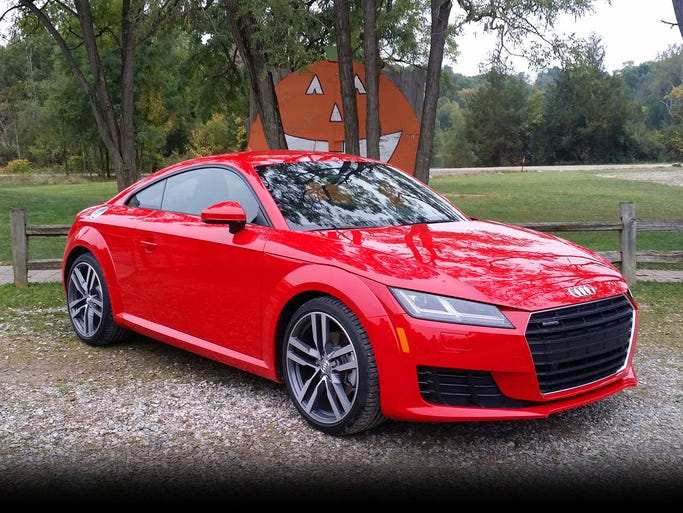 The third generation of the iconic Audi TT's beautiful