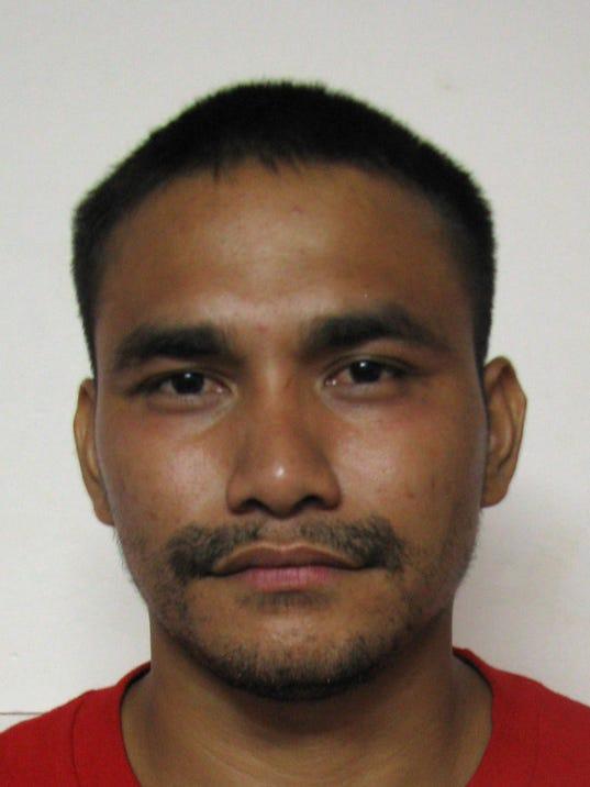 Jeremy Evaristo arrest mugshot