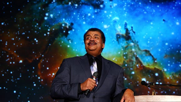 "The Drew Forum hosted Astrophysicist Neil deGrasse Tyson at their Simon Forum and Athletic Center. DeGrasse Tyson is the head of the Hayden Planetarium as well as a prominent public figure championing science and critical thought. He spoke on the topic, ""An Astrophysicist Reads the Newspaper.""