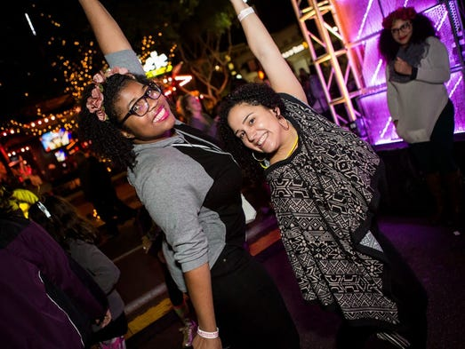 Mill Avenue sprung to life for its annual New Year's