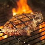 USDA Prime is a superior cut, but steaks labeled Choice also grill up nicely.