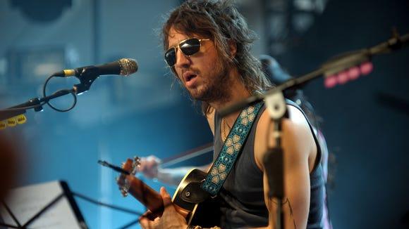 Joseph Arthur performs at the Coachella Valley Music & Arts Festival in 2011.